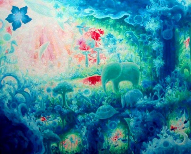 Heavenly Blue -2009